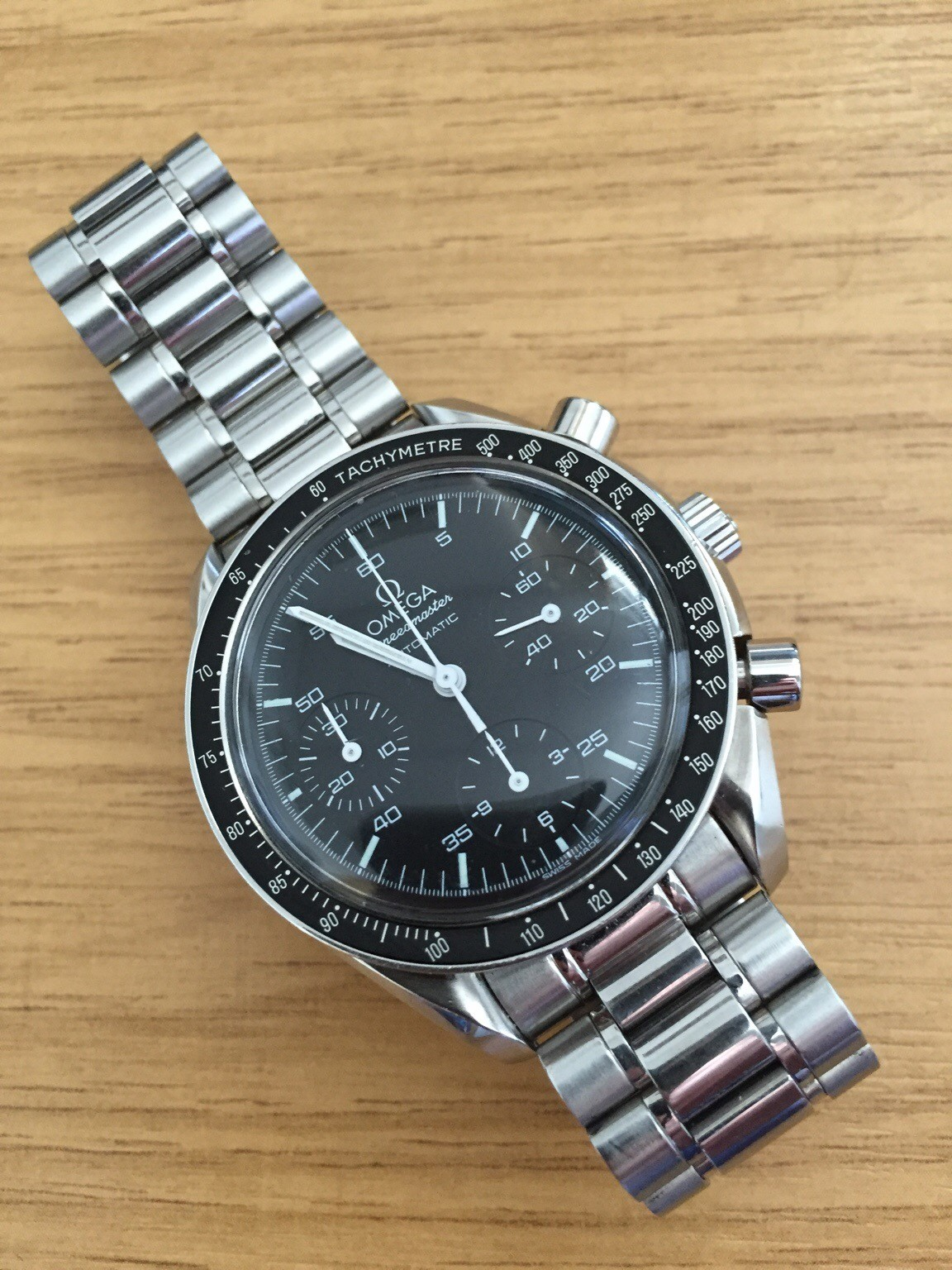 A Week On The Wrist Omega Speedmaster Reduced Wristwatch Review Uk