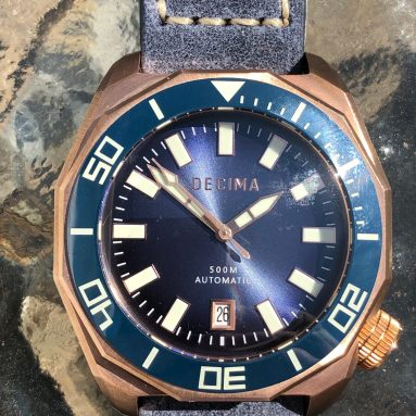 Decima Scylla watch review