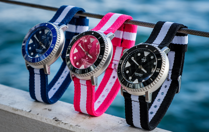 The Irukandji Dive Watch is on Kickstarter