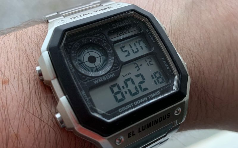SKMEI Dual Time Casio Royale Homage review