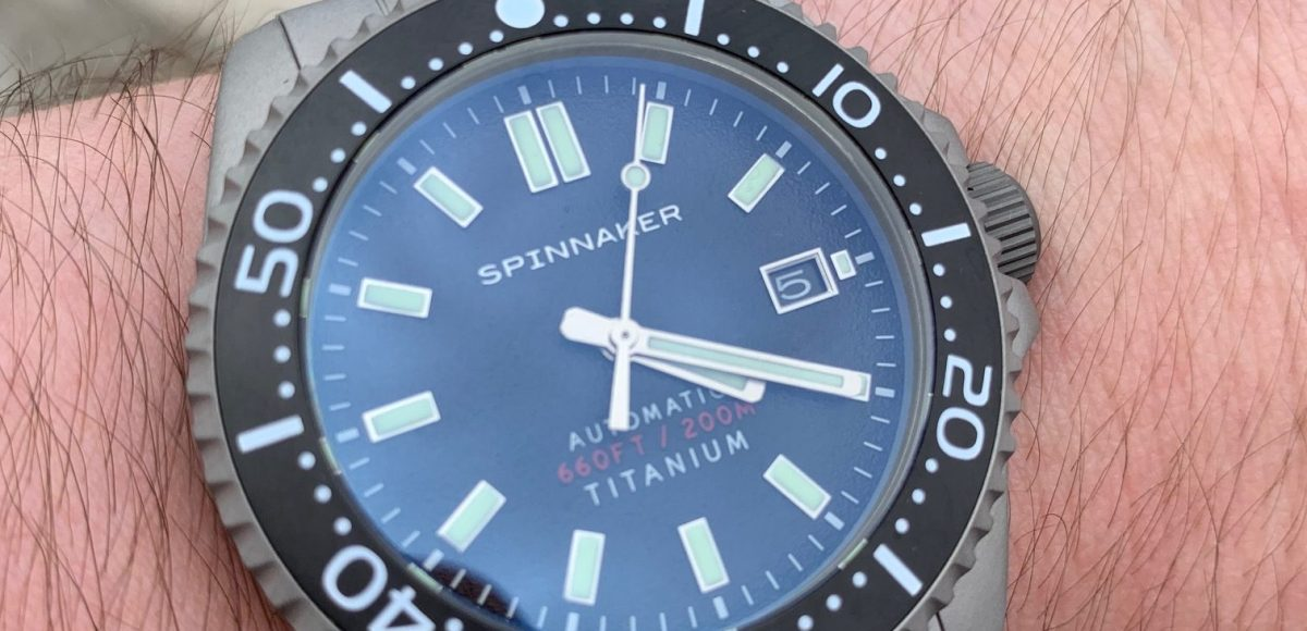 Spinnaker Tesei Titanium SP-5084 Watch Review