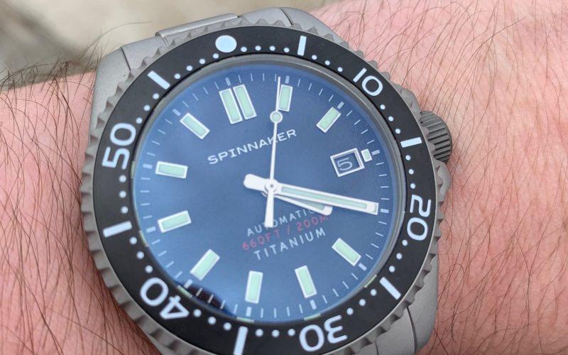 Spinnaker Tesei Titanium SP-5084 Watch Review