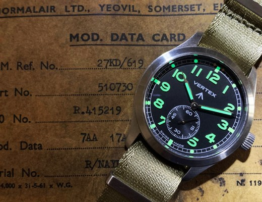 Vertex M100 watch review