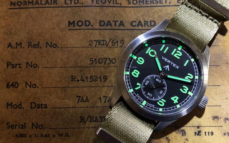 Vertex M100 watch review