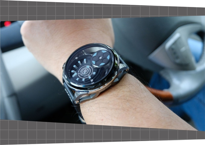 Backfire automatic watch