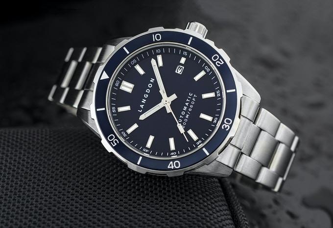 Langdon Davenport Wristwatch Review UK Kickstarter watches roundup