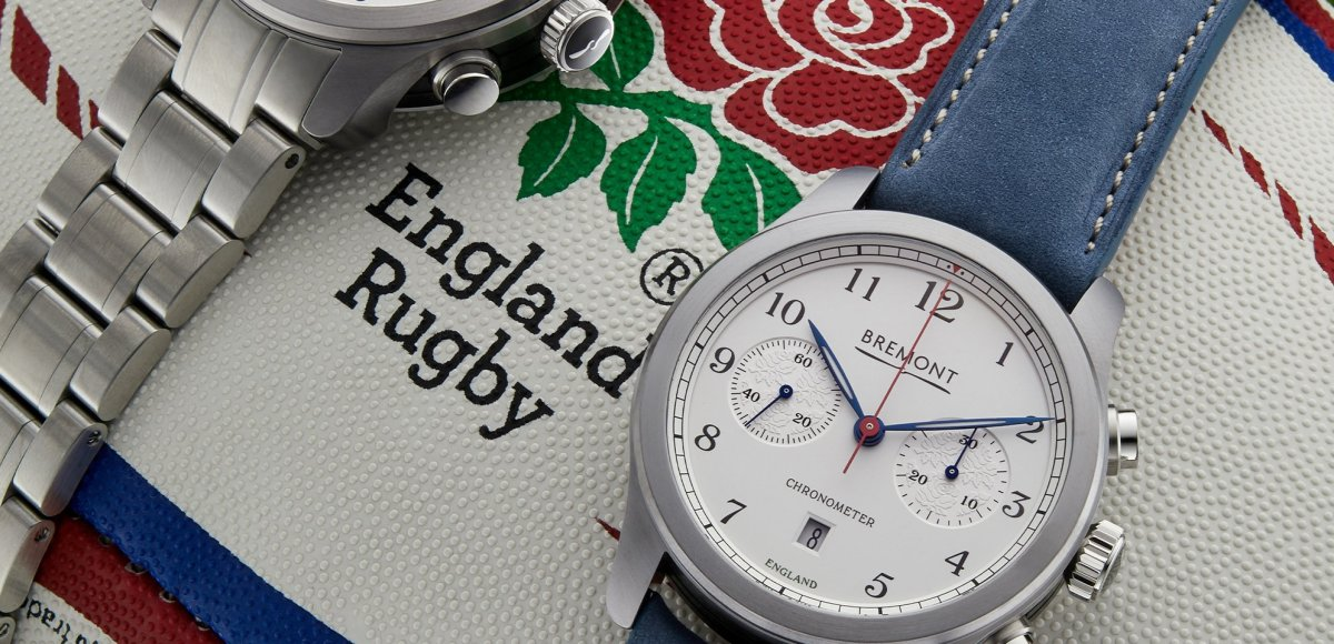 Bremont England Rugby watches