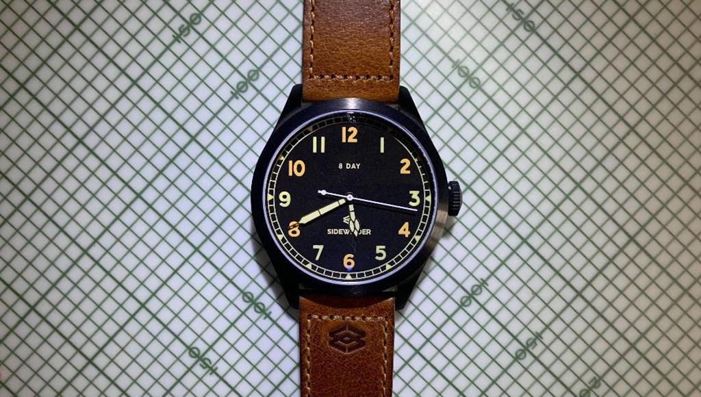 Sidewinder Watches Spitfire MkII D review