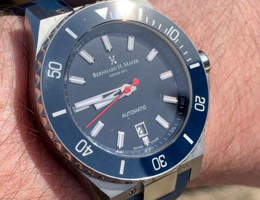 Bernhard H. Mayer PowerMaster First watch review