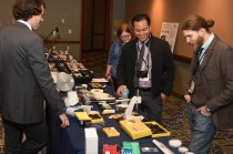 Vendors had their latest and greatest supplies for the watchmakers to see.