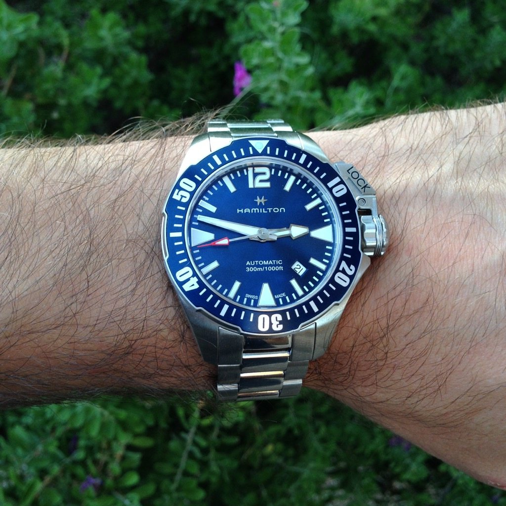 77daddeec Hands-on with the Hamilton Khaki Navy Frogman | Wrist Watch Review