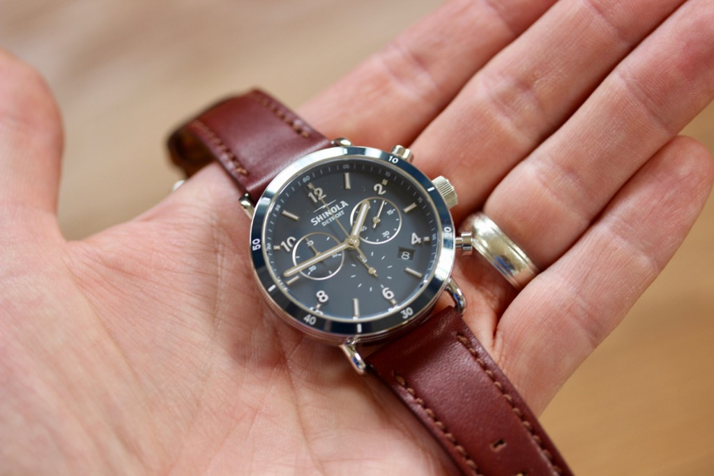 0ccb315f2 Hands-on with the Shinola Canfield Sport | Wrist Watch Review
