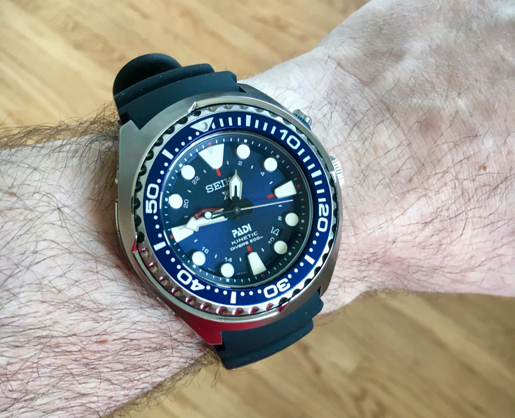 It S Frenetic And Kinetic It S The Seiko Prospex Sun065 Wrist