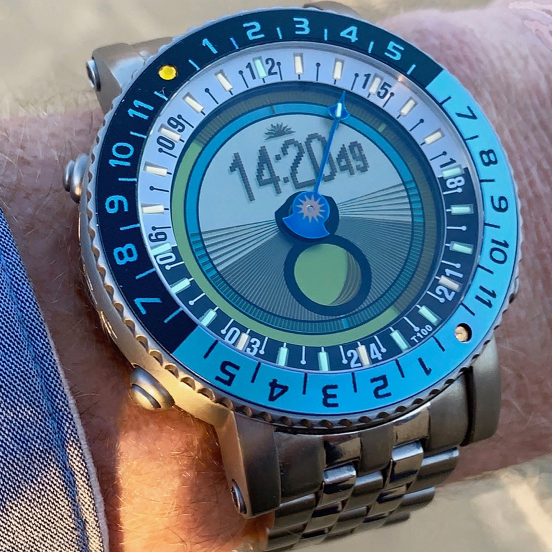 The Yes Worldwatch Tracks Well Everything Except You Wrist Watch