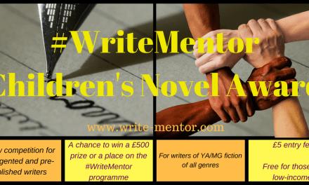 #WriteMentor Children's Novel Award – THE WINNER