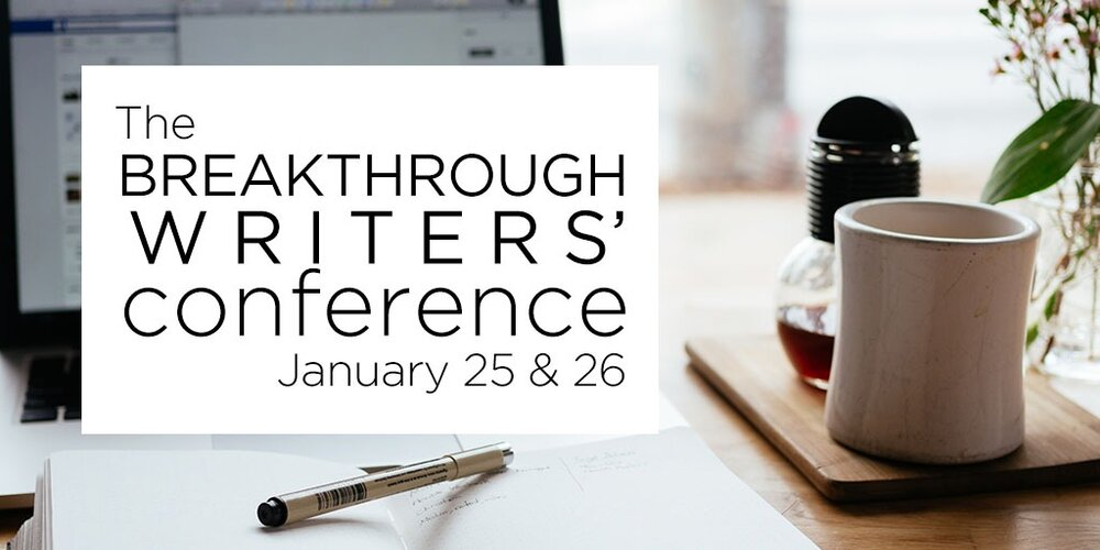 The Breakthrough Writers' Conference by Kate Brauning