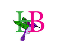 A logo Eric created for Hummingbird Flowers and Gifts