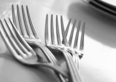 Cake forks.