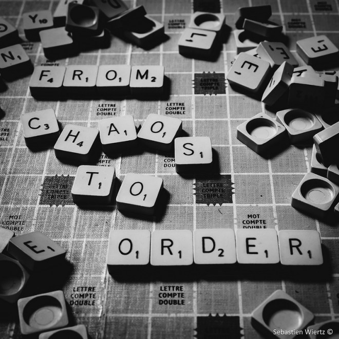 Image, scrabble board.