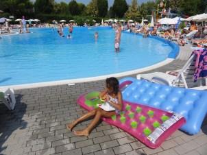 Several pools too.