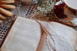 Bible Job Roses Teapot - e