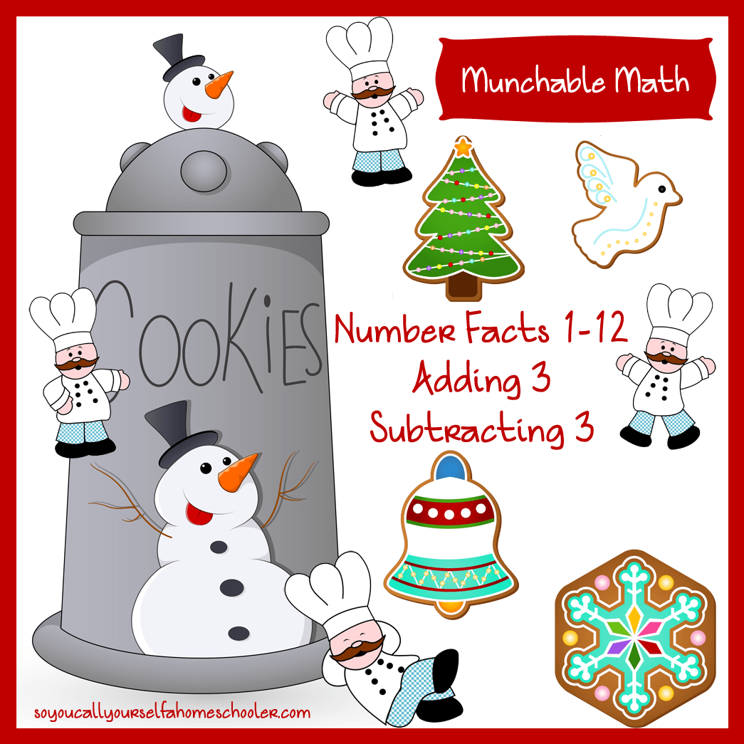 Christams Cookie Math Worksheet Christams Best Free
