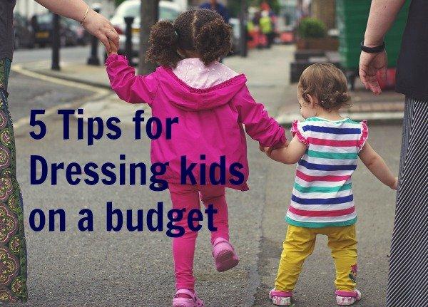 saving on kids clothes