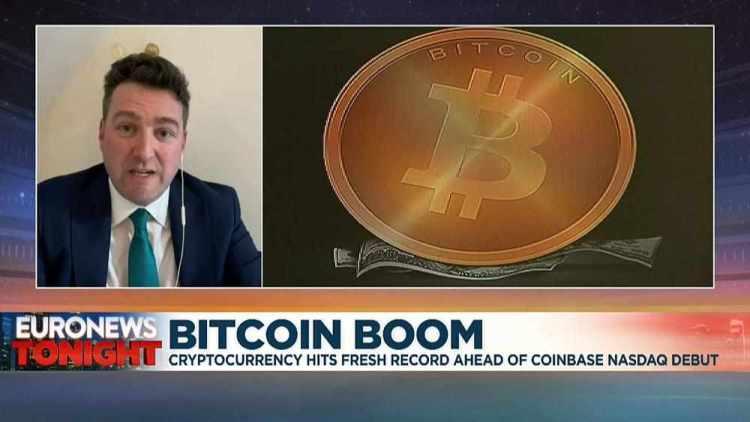 Bitcoin Hits Fresh Record Ahead Of Coinbase's Stock Market ...