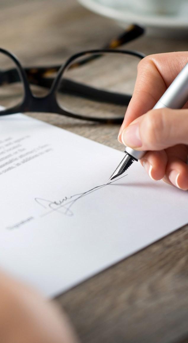 The perfect signature