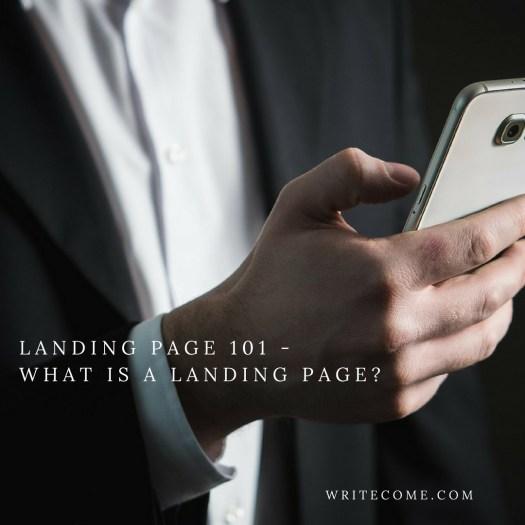 Landing Page 101