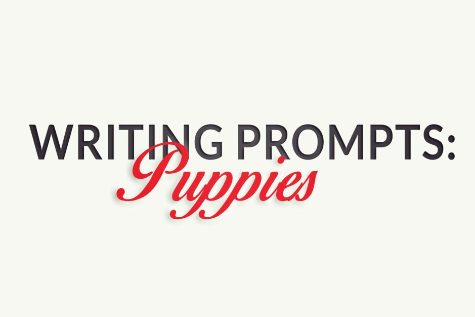 Writing Prompts: Puppies!
