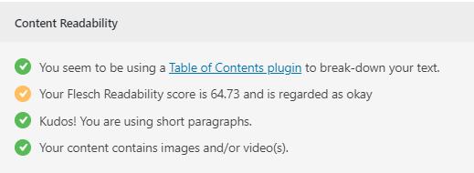 content-readability-test
