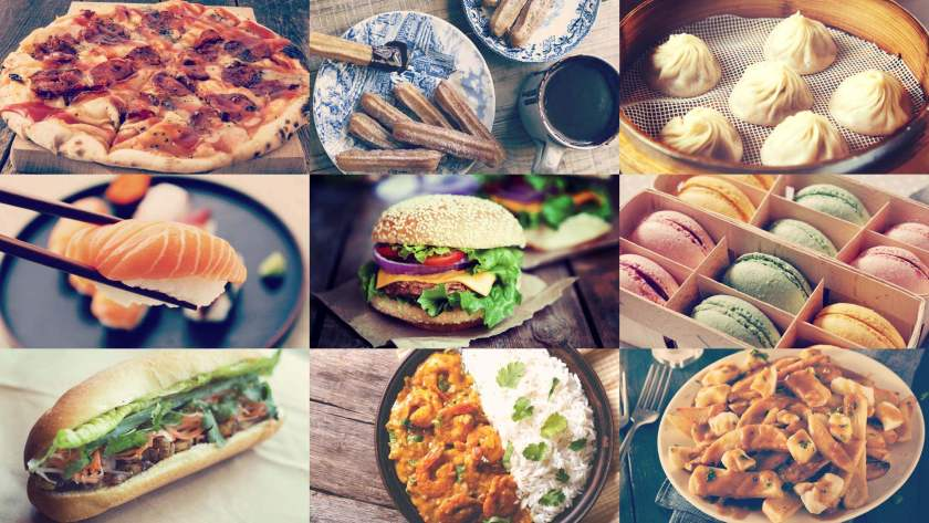 Национальные блюда различных стран