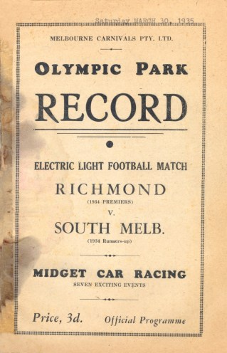 B8 Rich v SM Record 1935