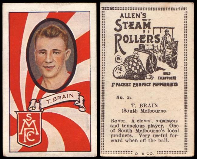 Remember Allen's Steam Rollers?