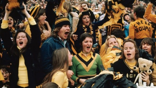 Tiger fans in all their glory captured perfectly by Rennie Ellis