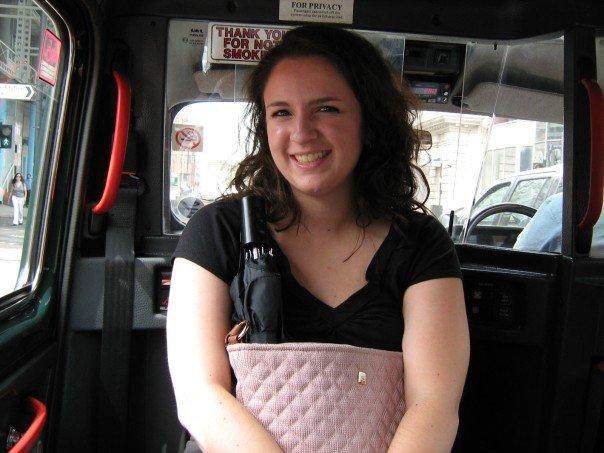 Riding backward in a kamikazi cab