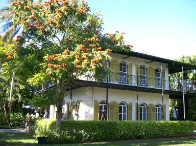 Hemingway's home in Key West, Fla.
