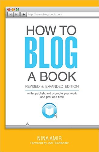 learn to blog a book