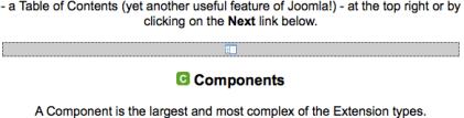 Joomla Pagebreak Indicator
