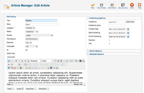 joomla-article-screen