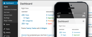 Future WordPress Dashboard