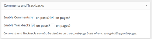 Genesis Enable Comments on Pages