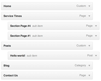 Adding links to a WordPress Menu