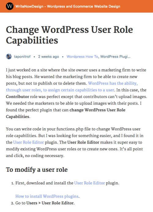 Wordpress AMP Formatting