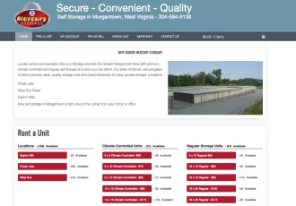 Mercury Storage with WooCommerce and Storage Rental Subscriptions