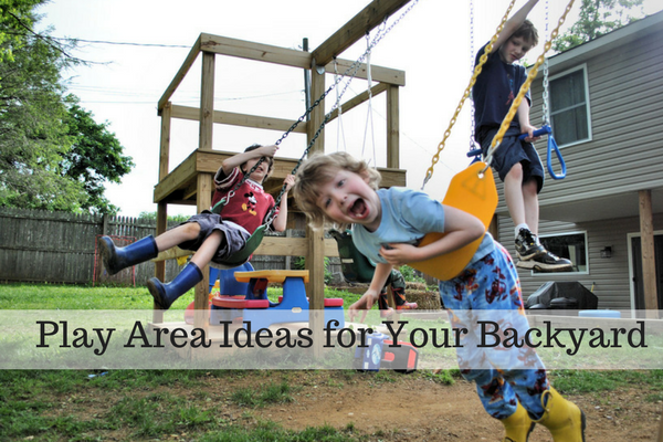 Play Area Ideas for Your Backyard1