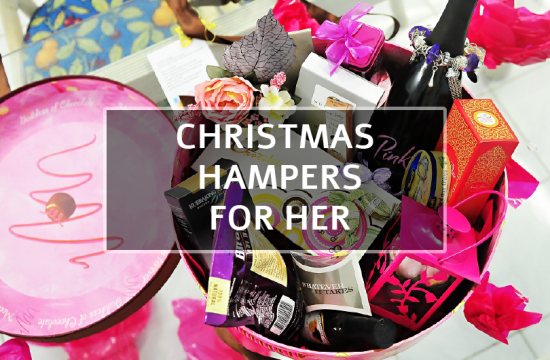 CHRISTMAS HAMPERS FOR HER