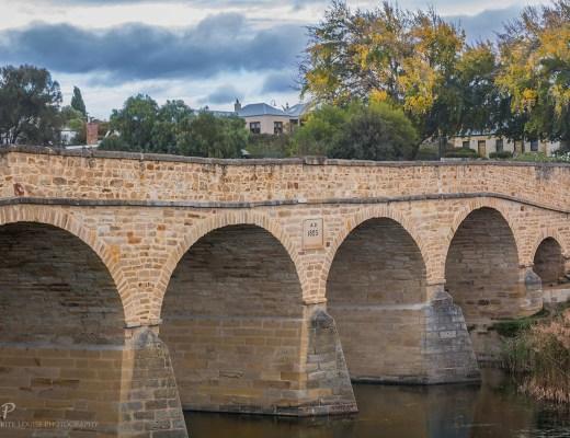 richmond bridge, richmond, tasmania