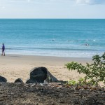 hervey bay, beach, bay, queensland, australia